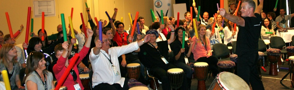 The Wonders of Drumming Workshops for Team Building Sydney